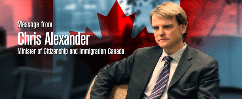 "Hon. Chris Alexander, Minister of Citizenship and Immigration: ""I know the power of the Turkic countries"""