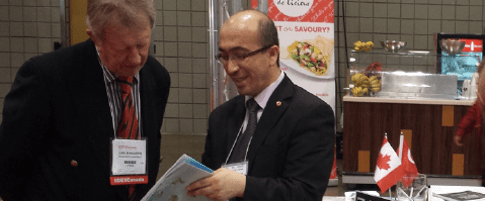 Turkish Canadian Chamber of Commerce booth at Construct International EXPO
