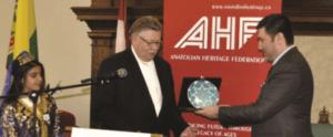 Turkic World Reception in Regina Parliament