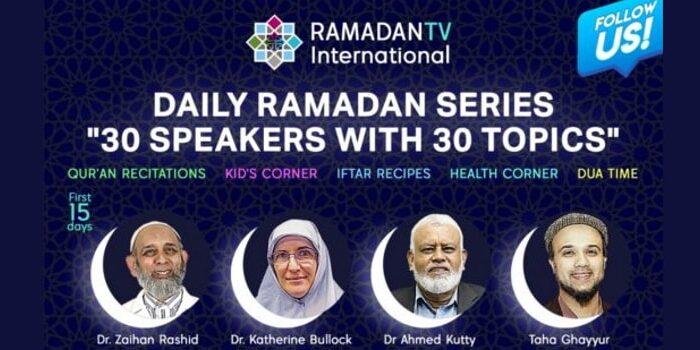 Ramadan TV guest speakers